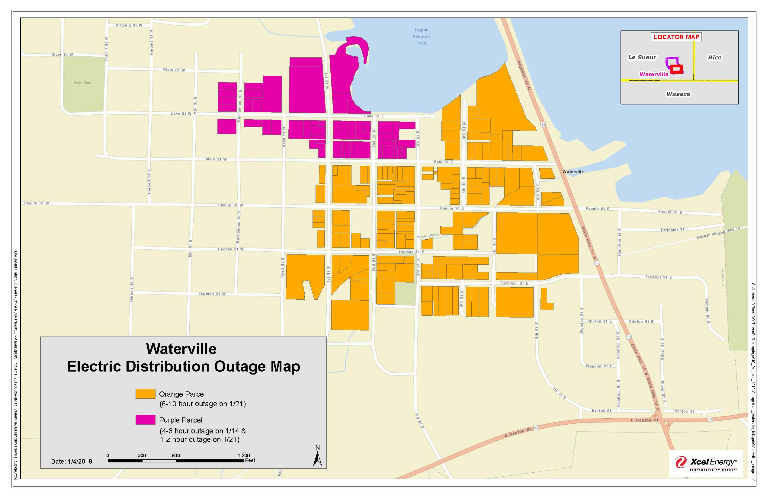Xcel Energy plans power outages in Waterville | MN South News
