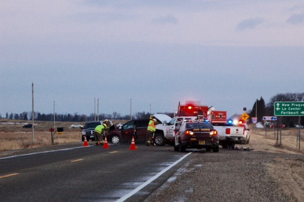 Two injured in morning accident | MN South News