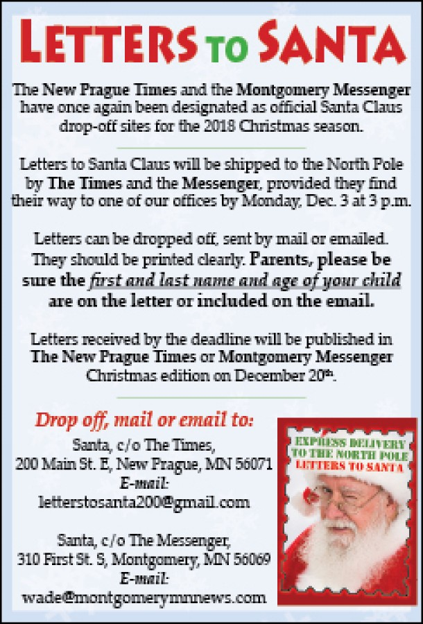 letters to santa delivered to the north pole